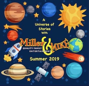 2019 Summer Library Tour - A Universe of Stories